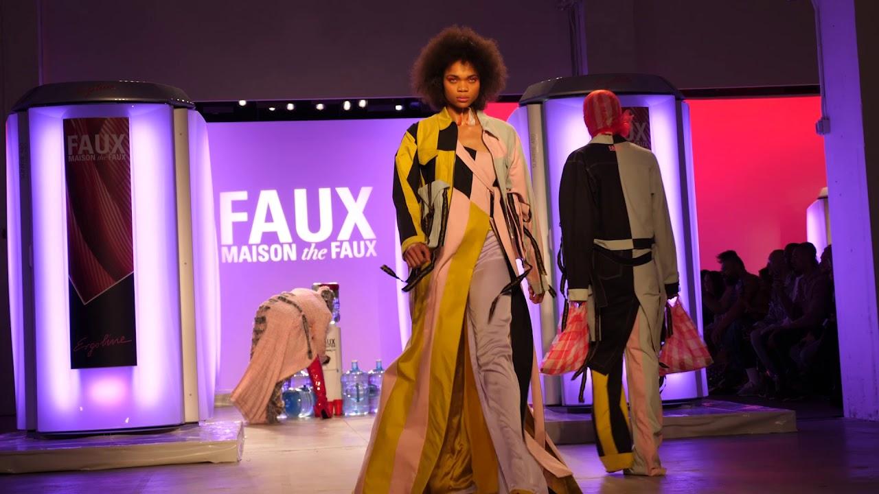 Ergoline takes New York Fashion Week! - YouTube