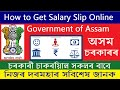 How to Download Salary Slip Online for Assam Govt  Employee