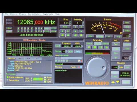 12065kHz,DRM. Radio Uzbekistan.