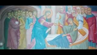 Иисус исцеляет тёщу апостола Петра. Георгий Максимов