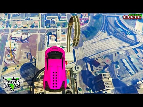 GTA 5 CRAZY JUMP RACES Open Lobby | Epic Fun Stunts & Races (GTA Online Funny Moments PS4)