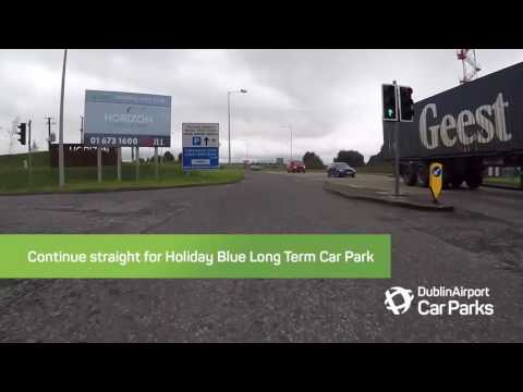 How To Find The Holiday Blue Long-Term Car Park From The M50