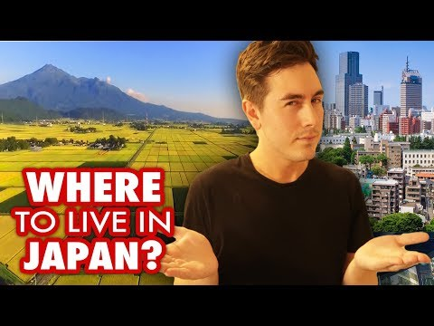 Where's the Best Place to Live in Japan? City vs. Countryside