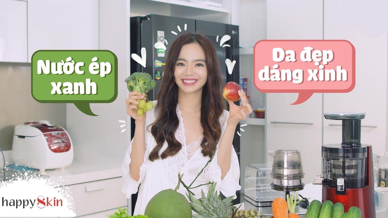 6 loại nước ép GIẢM CÂN GIỮ DÁNG ĐẸP DA dễ làm từ Emmi Hoàng |6 WEIGHT LOSS BEAUTY DRINKS|Happy Skin