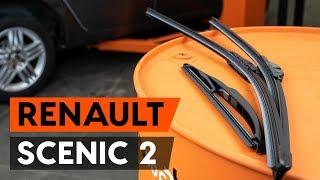 Montáž predné a zadné Stieracia liżta RENAULT SCÉNIC II (JM0/1_): video zadarmo