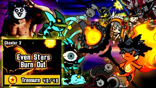 The Battle Cats - SPEEDRUN through Cats of the Cosmos Chapter 3 & Filibuster Obstructa Invade!