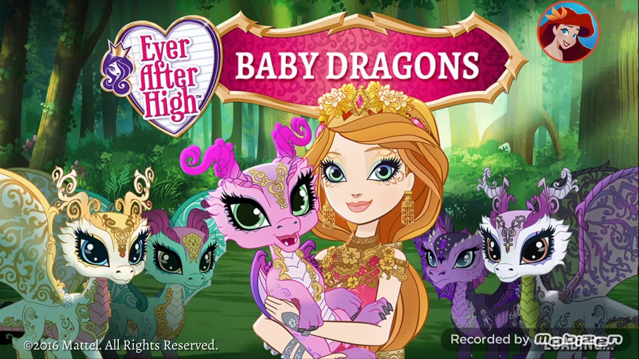 Ever After High💖Dragon Games: Baby Dragons 💖Ever ...