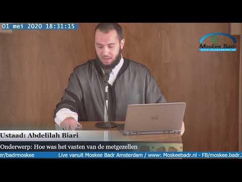 Ustaad Abdelilah Biari: Hoe was het vasten van de metgezellen
