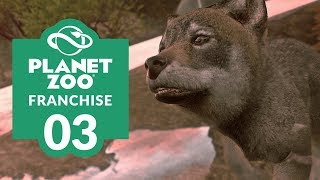 PLANET ZOO | EP. 03 - A PUP-ULAR EXHIBIT (Franchise Mode Lets Play)