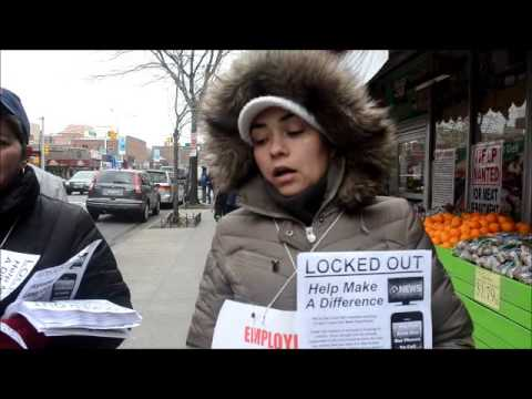 Socialist Alternative - Trade Fair Workers Lock-Out Picket Line