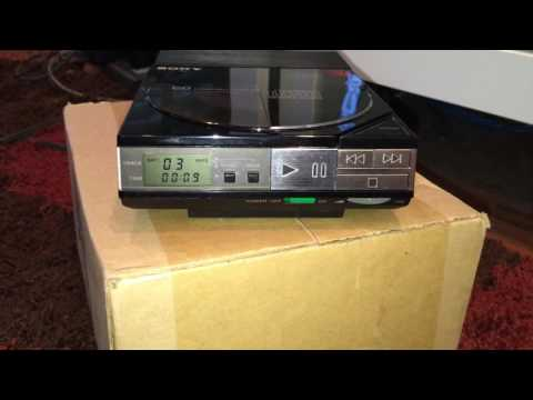 Sony D 5A CD Player