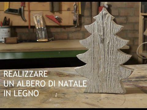Decorazioni In Legno Per Albero Di Natale : Costruire un albero di natale in legno youtube