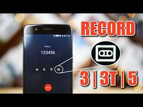 OnePlus 5 - Native Call Recording + OnePlus 3 / 3T Workaroun