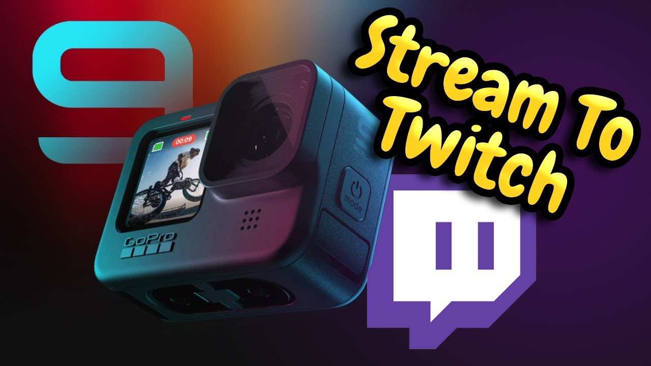 How To Live Stream To Twitch With A GoPro 9 And The GoPro App!