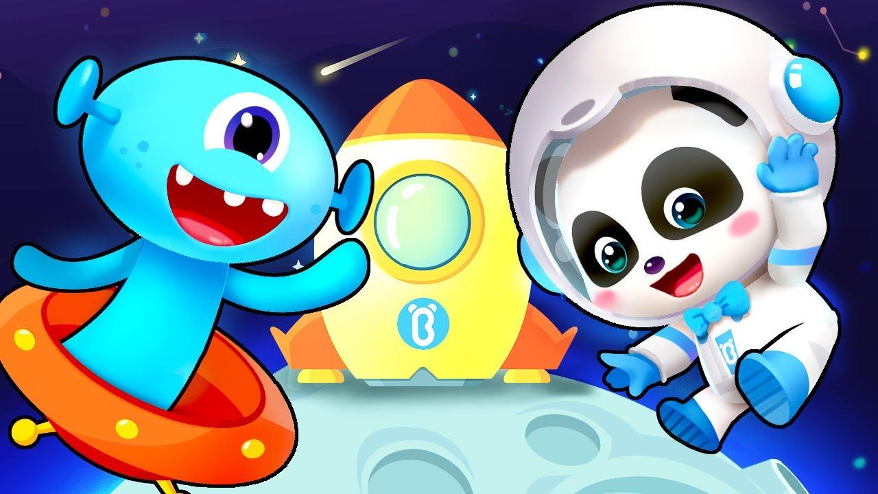 Exploremos el Espacio Juntos | Canciones Infantiles | BabyBus Español