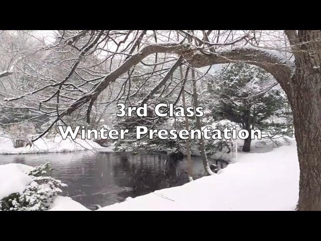 3rd Class Winter Presentation