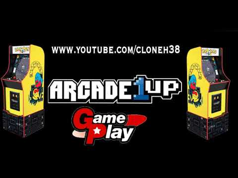 Arcade1up - Pac-Man Legacy Edition Gameplay and Overview from CloneH38