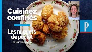La recette des nuggets de poulet de la cheffe Lina Caschetto