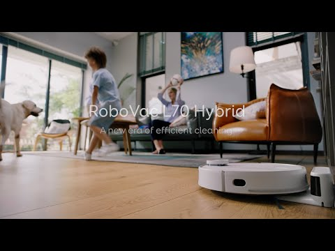 Introducing eufy RoboVac L70 Hybrid, Our First with Laser Navigation and Mapping