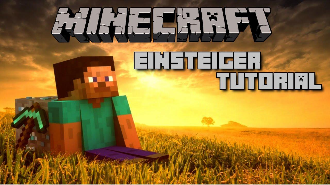 Minecraft Einsteiger Tutorial Deutsch PS Gameplay YouTube - Minecraft spielen fur anfanger