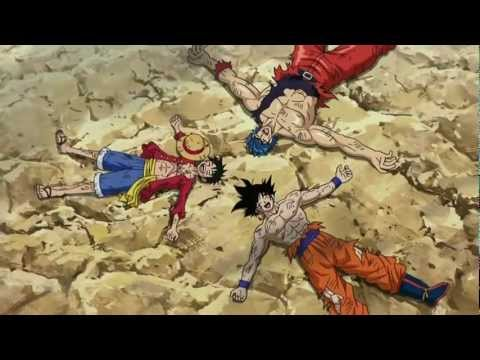 Toriko X One Piece X Dragon Ball Z Crossover - Best Anime Fight Ever