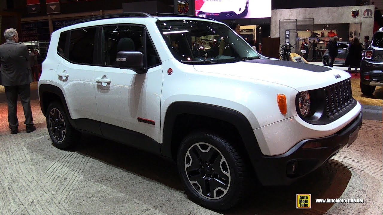2017 jeep renegade trailhawk exterior and interior walkaround 2017 geneva motor show youtube. Black Bedroom Furniture Sets. Home Design Ideas