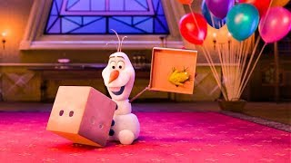At Home With Olaf 'Birthday' Trailer (2020) Disney HD