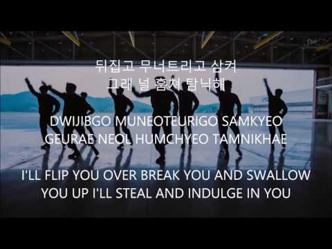 Monster - EXO [Han,Rom,Eng] Lyrics
