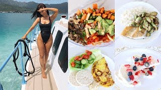 WHAT I EAT IN A DAY to lose weight   healthy weight loss
