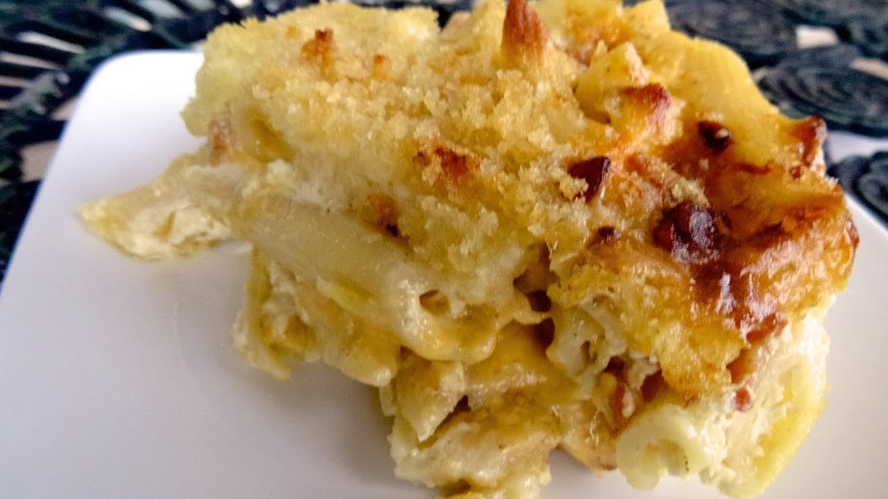 southern style baked macaroni and cheese