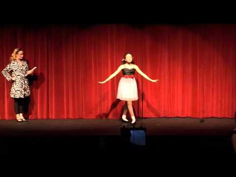 """Atara Performing To Play This Part In The Musical """"Ruthless"""""""