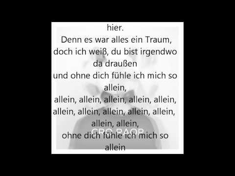 Cro - Allein [ Lyrics + HQ ]