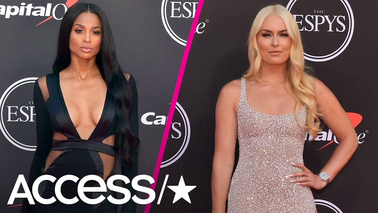 Ciara, Lindsey Vonn and More Sultry Fashion From The ESPYs Red Carpet