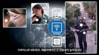 공공안전의 잠재성을 극대화하다 모바일 인텔리전스