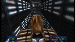 Star Wars: Shadows of the Empire N64 Playthrough Gall Spaceport Pt 1