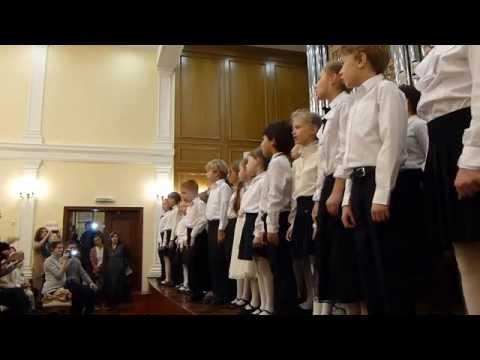 Клип хор - Учат в школе