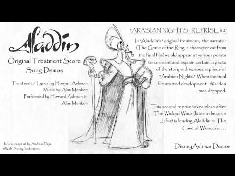 Arabian Nights - Reprise #2 - Howard Ashman Demo
