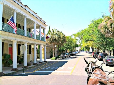 Charleston South Carolina Map & Details