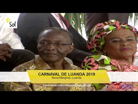 Carnaval 2019 na Nova Marginal de Luanda