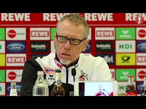 Die Pokal-Pressekonferenz mit Peter Stöger in voller Länge
