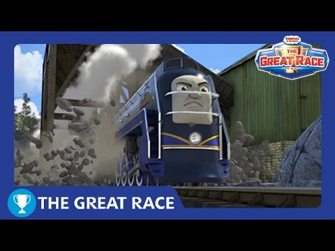 The Great Race: Vinnie of North America | The Great Railway Show | Thomas & Friends