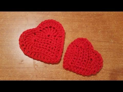 Piastrella cuore all uncinetto facilissima crochet tile heart