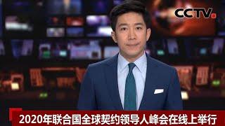 [中国新闻] 2020年联合国全球契约领导人峰会在线上举行 | CCTV中文国际