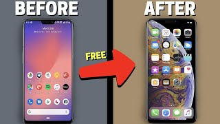 How to Turn Android into an iPhone 12 pro COMPLETELY! (no root) screenshot 5
