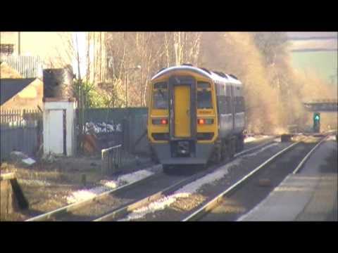 Trains Whizzing Through Dronfield Station