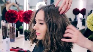 Варианты стильных укладок 2018: видеоурок от Надежды Борисовой