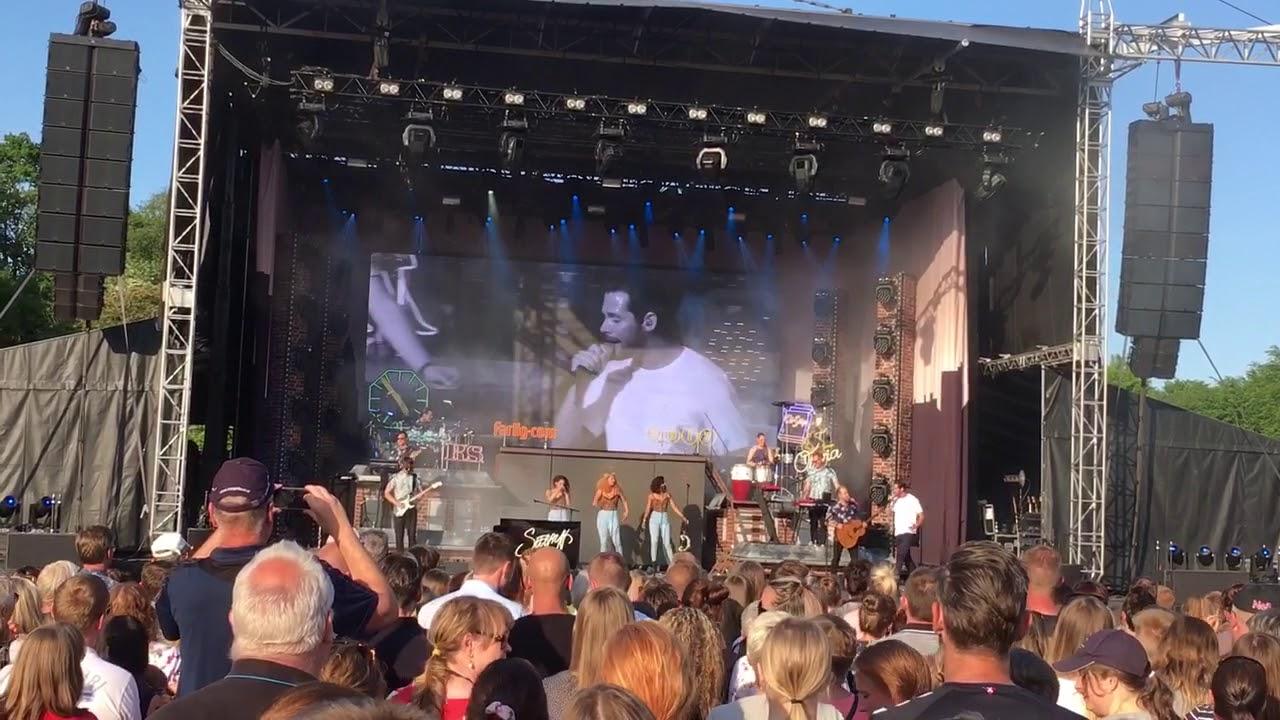Rasmus Seebach Mølleparken Aalborg 2018 1 Youtube