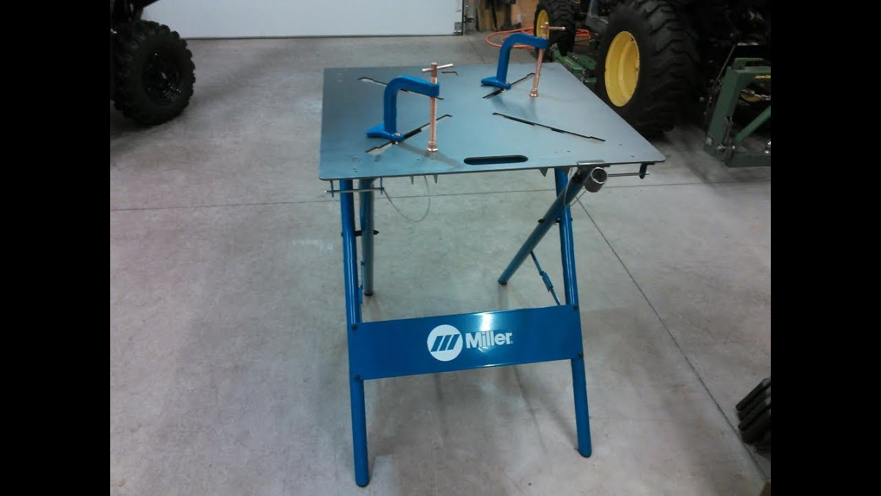 Miller 30fx Arcstation 30 Quot X 30 Quot Welding Table My Review By
