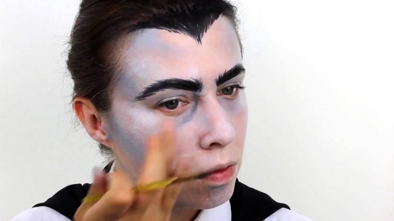 Uncategorized Dracula Face Painting halloween vampire dracula face paint tutorial snazaroo youtube snazaroo