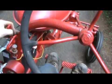farmall A tractor repair